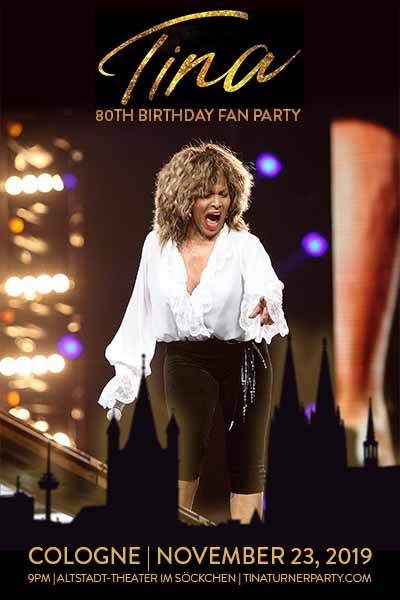 Event post for TINA 80 - Tina Turner's 80th birthday fan party
