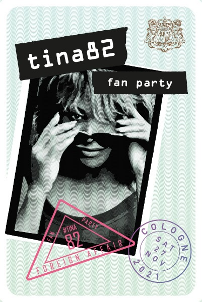 TINA 82 birthday fan party in Cologne